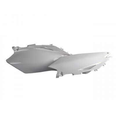 Plaques latérales Polisport Honda CRF 450R 09-10 blanc
