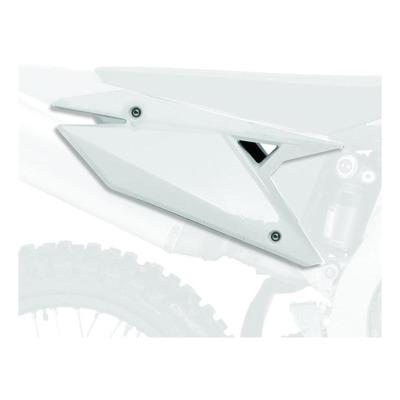 Plaques latérales Polisport Suzuki 250 RM-Z 13-18 blanc