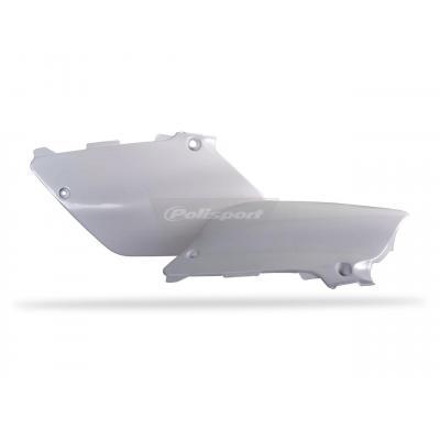 Plaques latérales Polisport Yamaha 250 YZ 02-14 blanc