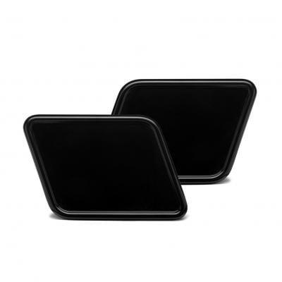Plaques latérales vintage C. racer forme parallélogramme noires