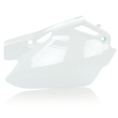 Plaques numéro latérales Acerbis Honda CR 85R 03-07 blanc (paire)