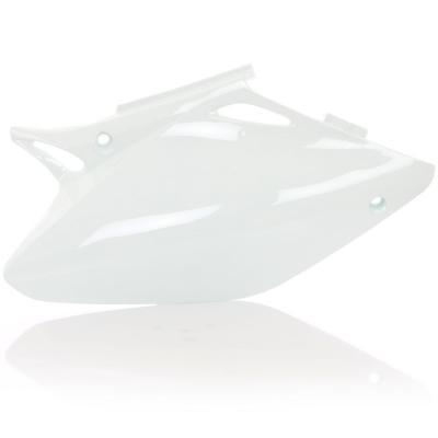 Plaques numéro latérales Acerbis Honda CRF 450R 03-04 blanc (paire)