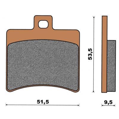 Plaquette de frein céramique Scarabeo/Madison