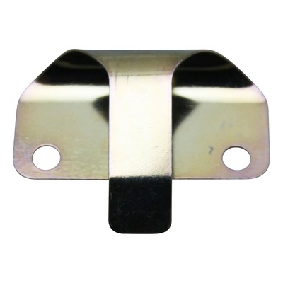 Plaquette fermeture trappe de tablier avant 573057 pour Piaggio 50-125 FLY / Liberty / Vespa LX