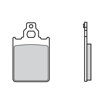 Plaquettes de frein Brembo 07013CC carbone céramique avant