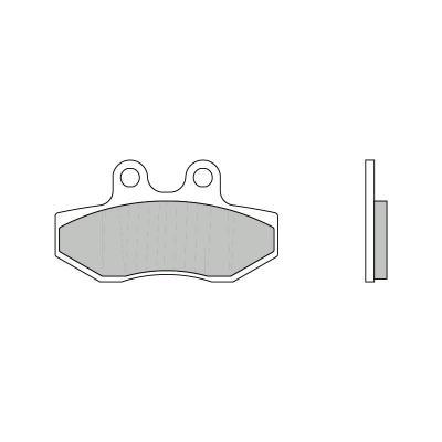 Plaquettes de frein Brembo 07089CC carbone céramique avant