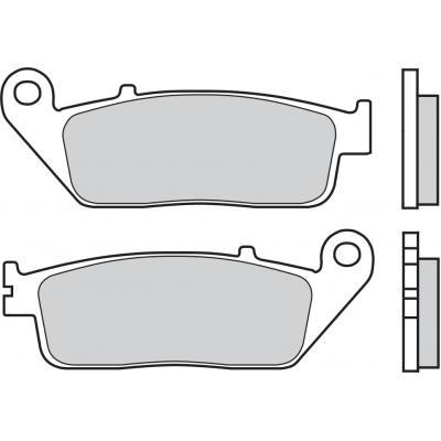 Plaquettes de frein Brembo 07HO41LA métal fritté route