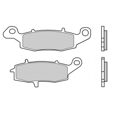 Plaquettes de frein Brembo 07KA18LA métal fritté route