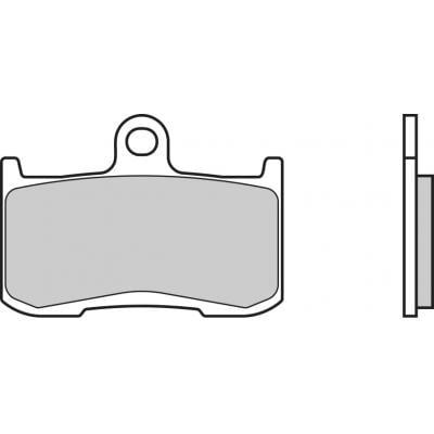 Plaquettes de frein Brembo 07KA23LA métal fritté route