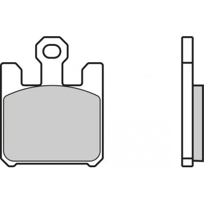 Plaquettes de frein Brembo 07SU26LA métal fritté route