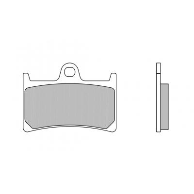 Plaquettes de frein Brembo 07YA23LA métal fritté route