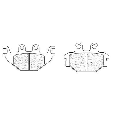 Plaquettes de frein Carbone Lorraine 1147X59