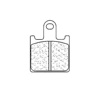 Plaquettes de frein Carbone Lorraine 1177C60