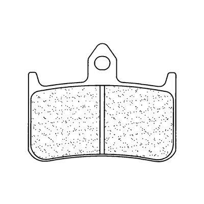 Plaquettes de frein Carbone Lorraine 2245A3+