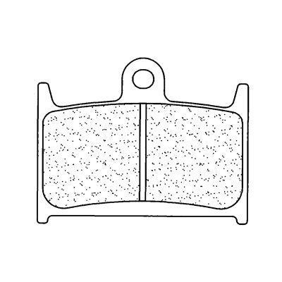Plaquettes de frein Carbone Lorraine 2246A3+