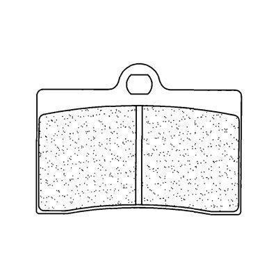 Plaquettes de frein Carbone Lorraine 2247A3+