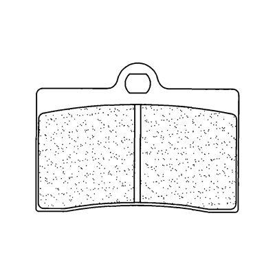 Plaquettes de frein Carbone Lorraine 2247S4