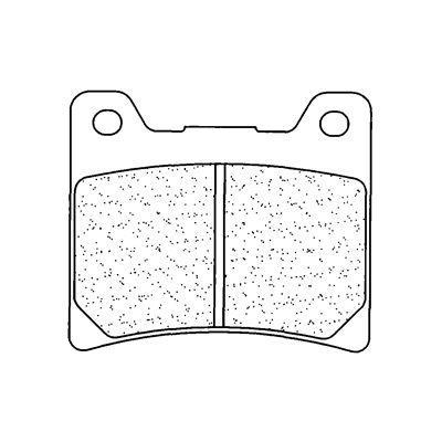 Plaquettes de frein Carbone Lorraine 2283A3+