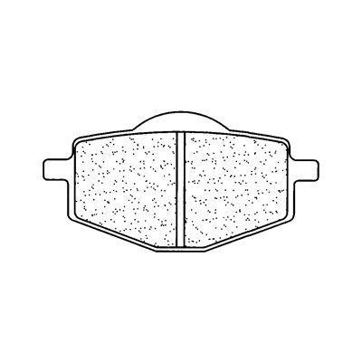 Plaquettes de frein Carbone Lorraine 2284RX3