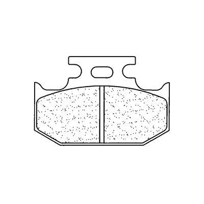 Plaquettes de frein Carbone Lorraine 2299RX3