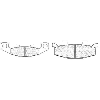 Plaquettes de frein Carbone Lorraine 2304A3+