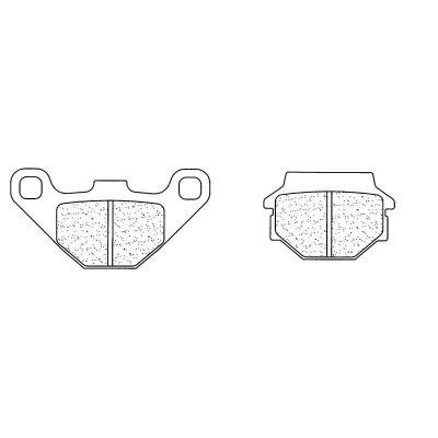 Plaquettes de frein Carbone Lorraine 2306S4