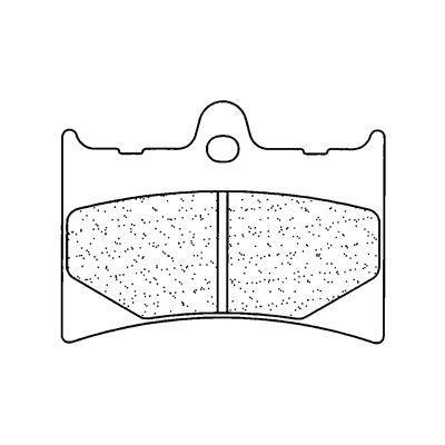 Plaquettes de frein Carbone Lorraine 2398S4
