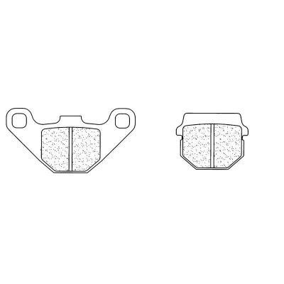 Plaquettes de frein Carbone Lorraine 2469MX10