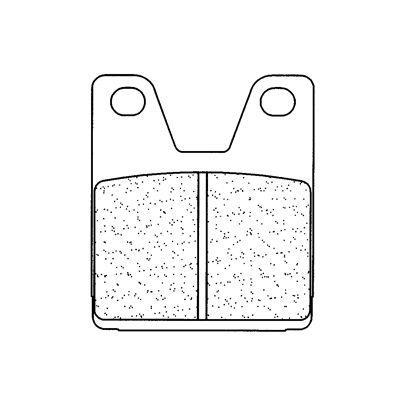 Plaquettes de frein Carbone Lorraine 2713RX3