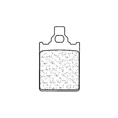 Plaquettes de frein Carbone Lorraine 3053SC