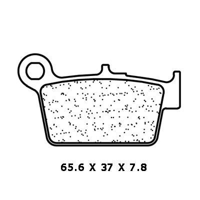 Plaquettes de frein Carbone Lorraine 3113SC