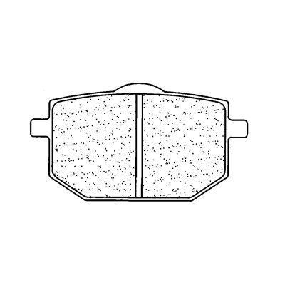Plaquettes de frein CL Brakes 2393S4