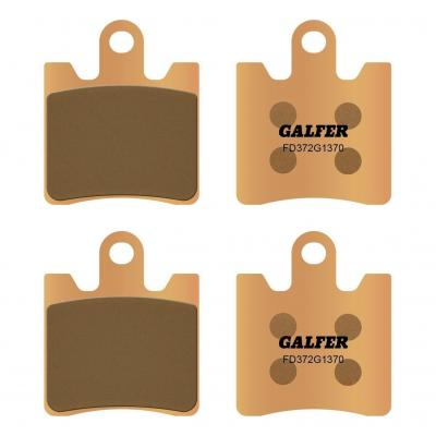 Plaquettes de frein Galfer G1370 sinter FD372