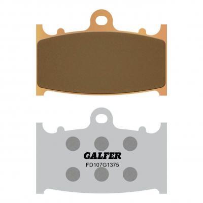 Plaquettes de frein Galfer G1375 sinter FD107