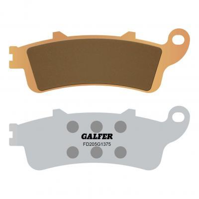 Plaquettes de frein Galfer G1375 sinter FD205