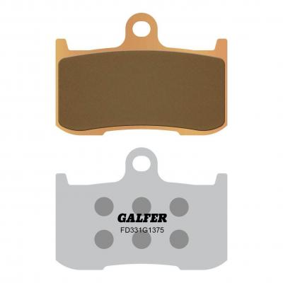 Plaquettes de frein Galfer G1375 sinter FD331