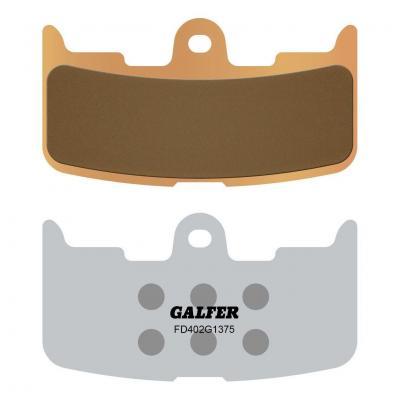 Plaquettes de frein Galfer G1375 sinter FD402