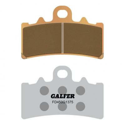 Plaquettes de frein Galfer G1375 sinter FD450