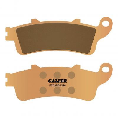 Plaquettes de frein Galfer G1380 sinter FD205