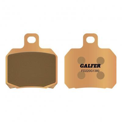 Plaquettes de frein Galfer G1380 sinter FD220