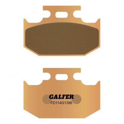 Plaquettes de frein Galfer G1396 sinter FD114