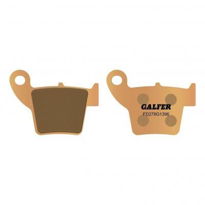 Plaquettes de frein Galfer G1396 sinter FD278