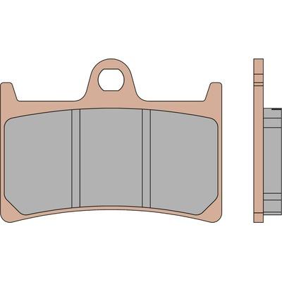 Plaquettes de frein Malossi MHR Synt T-Max 500/530