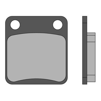 Plaquettes de frein Malossi Sport Silver Wing 400/600