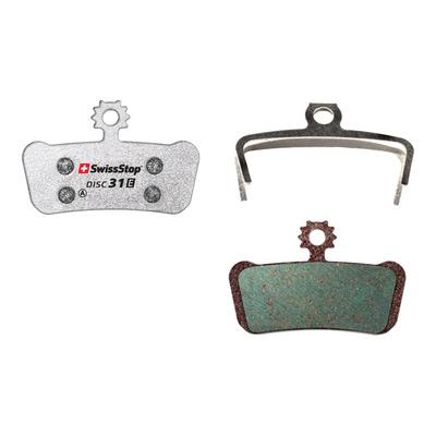 Plaquettes de frein organique Swissstop Disc31E pour SRAM X01, Elixir 9, 7, SRAM G2
