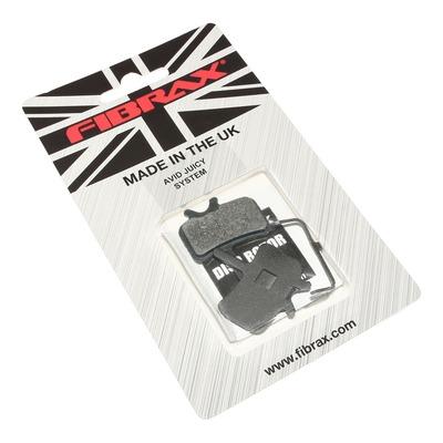 Plaquettes de frein semi-métal Fibrax pour SRAM/AVID Juicy et BB7