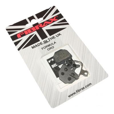 Plaquettes de frein semi-métal Fibrax pour Formula Oro
