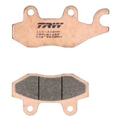 Plaquettes de frein TRW métal fritté MCB582SRM