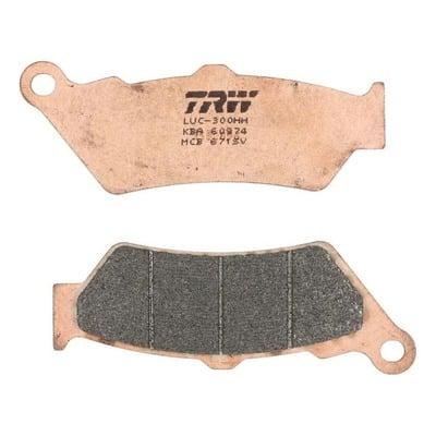 Plaquettes de frein TRW métal fritté MCB671SV