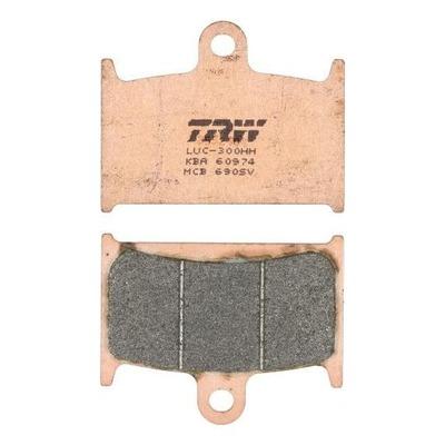 Plaquettes de frein TRW métal fritté MCB690SV